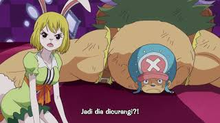 One Piece Episode 822 -Indo Roulette !!-English Subbed