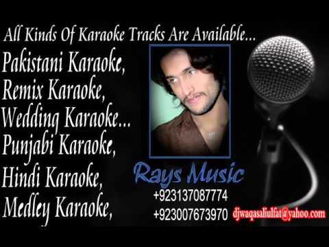 Mere Dil Ki Duniya Mein Karaoke rahat fateh ali khan
