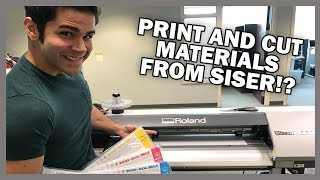 A Guide To Print and Cut Materials from Siser®