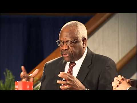 Supreme Court Justice Clarence Thomas - RAW Video -- Duquesne University School of Law