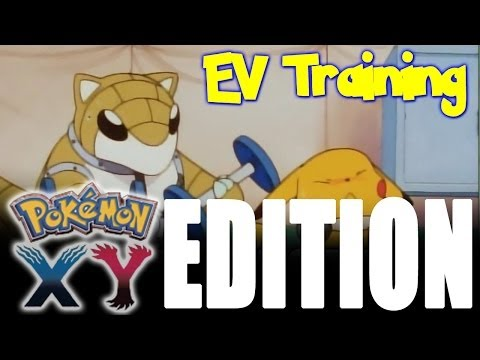 How To Ev Train Your Pokémon In X & Y video