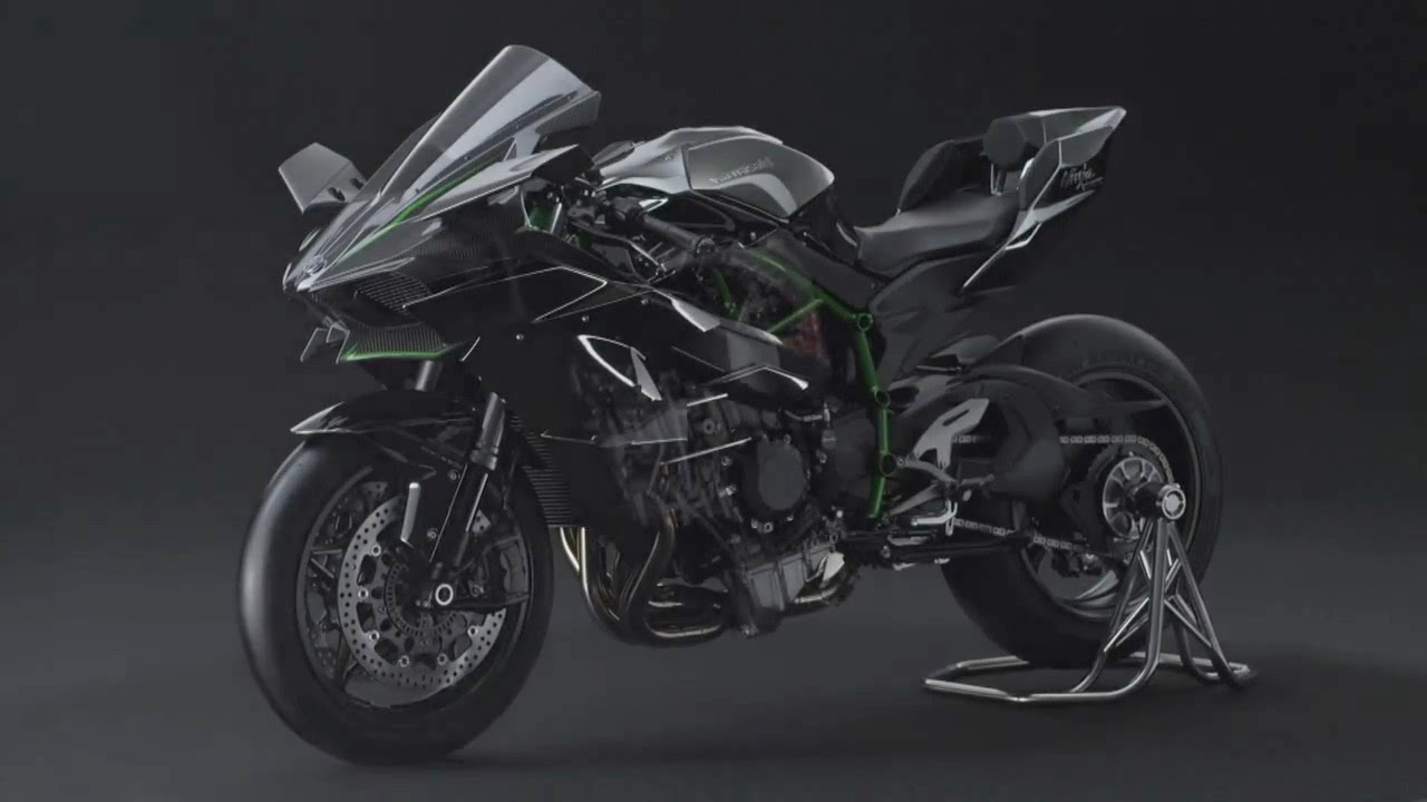 the 2015 kawasaki ninja h2r official video introduction autos post. Black Bedroom Furniture Sets. Home Design Ideas