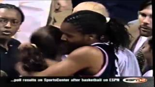 Sue Bird, Talent, Character and Ambition  6/3/2001 UConn vs  Notre Dame Big East Championship