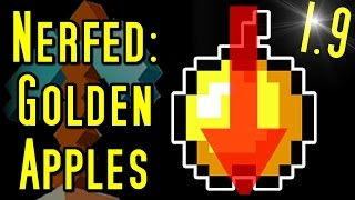 Minecraft GOLDEN APPLE NERF, New Void Biome & More (1.9)
