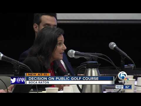 No vote on how to fund new public golf course in Boca Raton