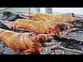 Amazing Turkish Food | Whole Lamb Roast On Grill | The Best Turkish Lamb