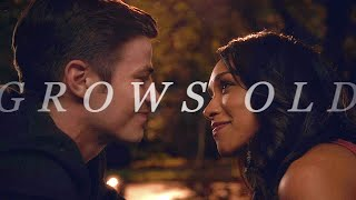 barry&iris | grows old (+4x09)