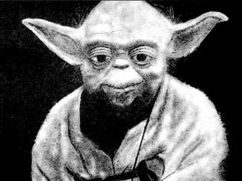 Art With Salt - Yoda