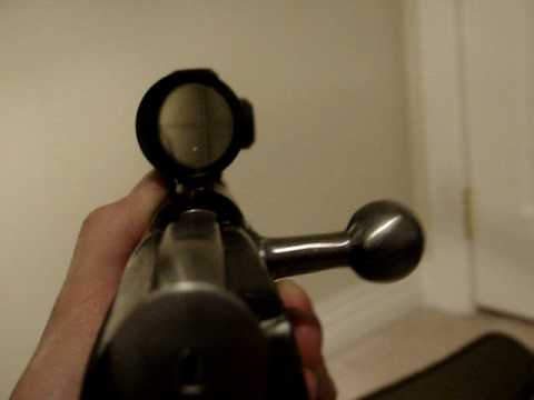 Mosin Nagant Long Eye Relief Scout Scope Setup M91/30