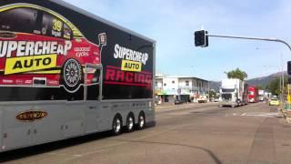 V8 Supercars Transporter Parade, Townsville 2011