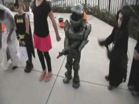 Master Chief Halo halloween costume contest 1st place