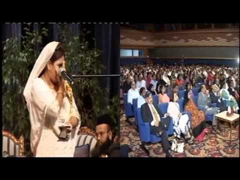2011 Majlis Doha Shabina Adeeb Self Mushaira Frogh E Urdu Adab Qatar video