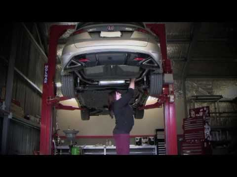Mugen Cat-Back Exhaust System Installation on Honda Civic Type-R FN2