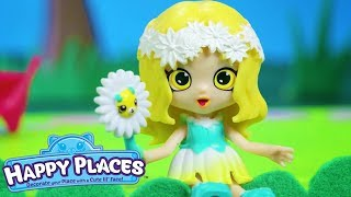 Shopkins | Happy Places - The Lil' Shoppies of Happyville - Pretty Garden - Cartoons for Children