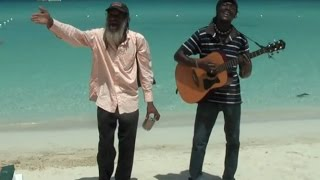 Amazing Reggae Performer Sings `Sitting In The Dark Of The Bay` for KOKOI BALDO(Reggae)