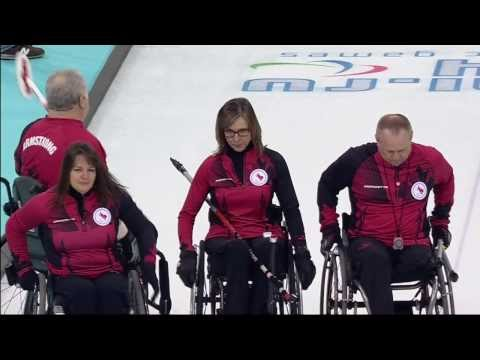 Wheelchair Curling | March 8 | Team Canada Daily Highlights | Sochi 2014 Paralympics HD