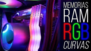 RGB RAM MEMORIES CURVES? T-FORCE DELTA RGB!