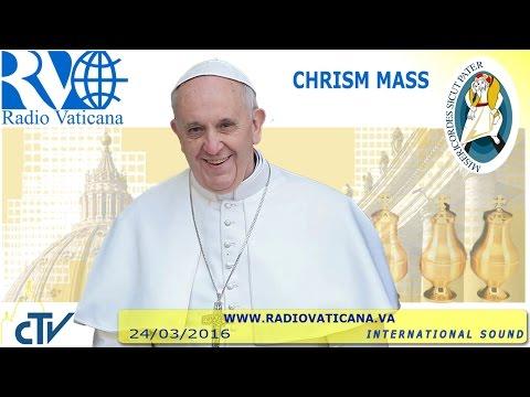 Chrism Mass 2016.03.24