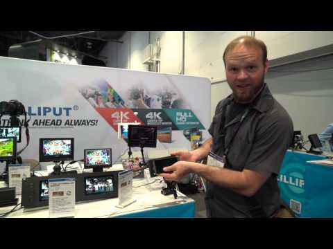 Lilliput Q5 5 inch 1920x1080 monitor at NAB - DSLR FILM NOOB