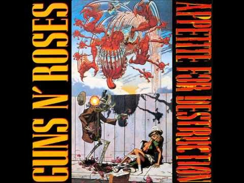 Guns n roses Appetite for destruction Full album