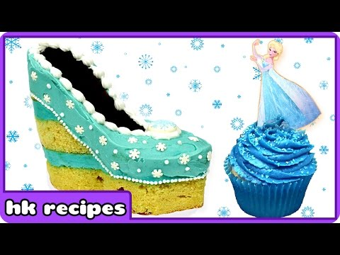 Frozen Christmas   Elsa   Christmas Baking   Elsa Shoe Cake   Disney Princess   Merry Christmas