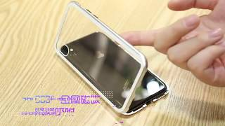 Magnetic Adsorption Case for iPhone X 7 8 Plus 6S    (Link in Description)