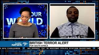 Institute for Security Studies clarifies UK's terrorism warning