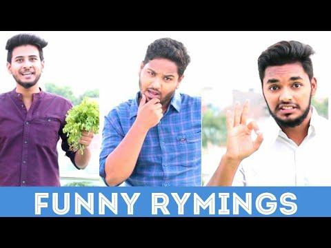 Funny Indian Rhymings || Funny video || Nizambad diaries ||