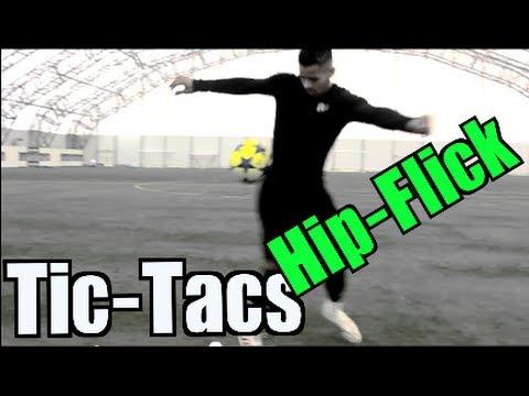 Amazing Football Skill - The Hip-Flick - F2 Tic-Tac