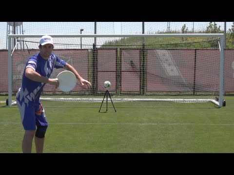 Frisbee Trick Shots | Soccer Edition | Brodie Smith