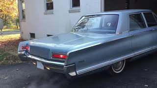 1966 Chrysler Newport cold start (still feeling it)