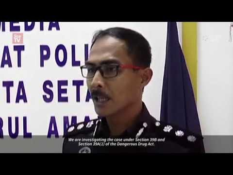 RM14,000 worth of drug seized in Ops Tapis