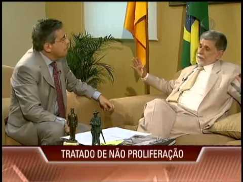 Ministro Celso Amorim e a Defesa Nacional (Integra) # Record News # Paulo Henrique Amorim