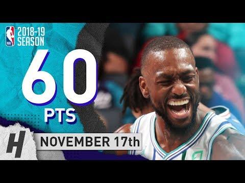 Kemba Walker SICK Highlights Hornets vs 76ers 2018.11.17 - 60 Pts, 4 Ast, 7 Rebounds!
