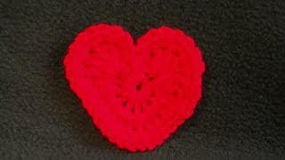 Be My Valentine Heart Crochet Tutorial