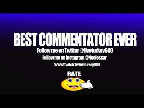 Black ops 2: THE BEST COMMENTATOR EVER - MUST WATCH and COMMENT