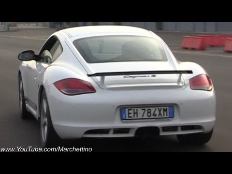 Porsche Cayman R Fabspeed Race Exhaust Sound!