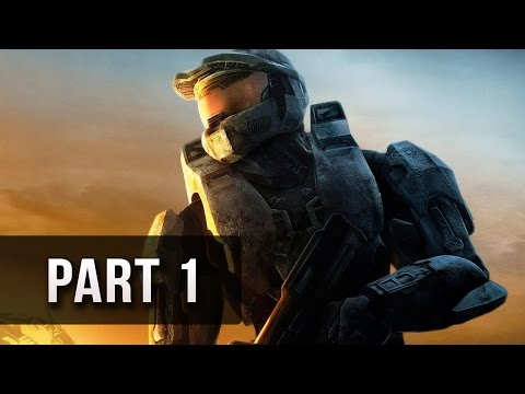 Halo 3 Walkthrough Part 1 - Let's Play XBOX 360 Gameplay