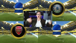 FIFA 17: OMG 6 WALKOUTS! 2x 90+ TOTS! ⛔️🔥😎 - ULTIMATE TEAM - PREMIER LEAGUE PACK OPENING!