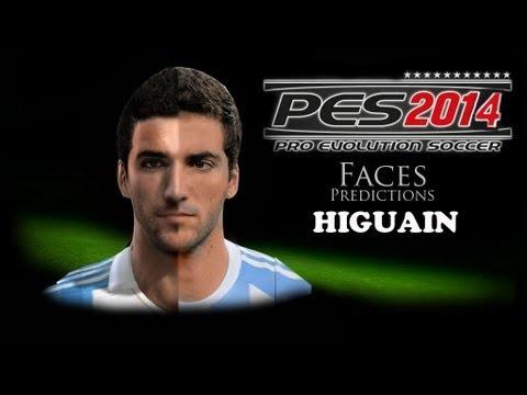 Higuain Pes Stats 2014 Pes 2014 Faces Higuain New