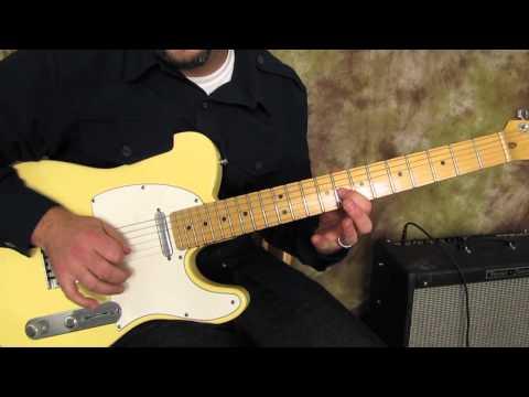 Blues Lick - Blues Guitar Lessons - Fender Telecaster