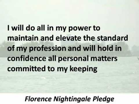 The Future of the Nightingale Pledge