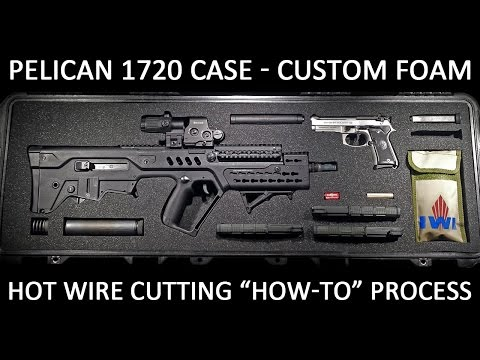 Custom Foam Cutting for the Pelican 1720 Case (How To Using Hot Wire Cutter)