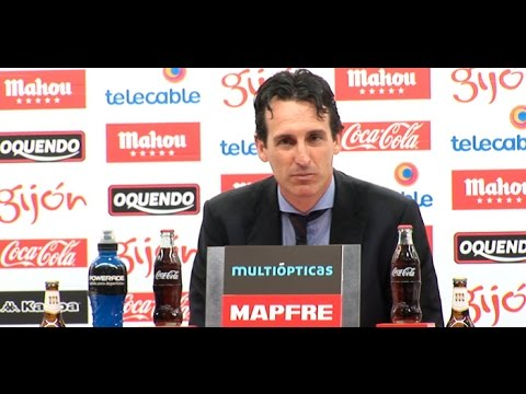 Rueda de prensa de Unai Emery, entrenador del Sevilla F.C.