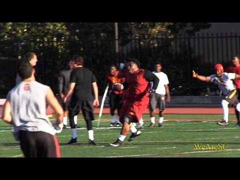 WeAreSC Video: Antwaun Woods' comes up with a pick-six - 6/8/15