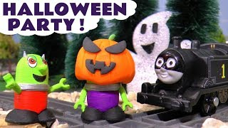 Funny Funlings have a fun Halloween Party with Thomas The Train in fancy dress costume TT4U