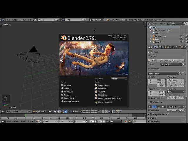 [DÉBUTANT] Comment créer une animation 3D - Découverte de Blender thumbnail
