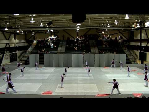 Los Banos High School Winterguard