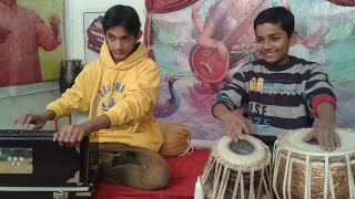 Introducing Little Master Jovial - A New Talent on Tabla in Sangeet Pravah with Master Nishad