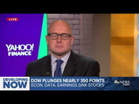 Dow Plunges Nearly 350 points4:57